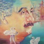 """Tchaikovsky portrait- 2019 20""""x30"""""""